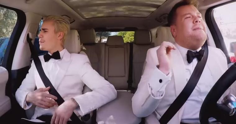 Justin Bieber Gets Another Carpool Karaoke Encore