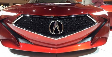 Grille From Acura Precision Concept Will Be Featured On Upcoming Production Model