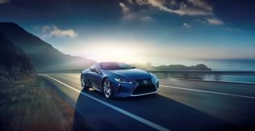 Lexus LC 500 Gains Hybrid Trim