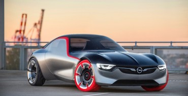 The Opel GT Concept Sure is a Handsome, Weird Thing on Wheels