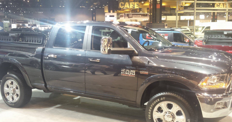 Ram Truck Brand Unveils New Ram 2500 4×4 Off-Road Package
