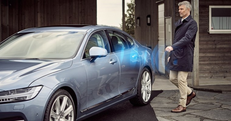 [VIDEO] Volvo's New Digital Key Smartphone App Could Replace Physical Keys