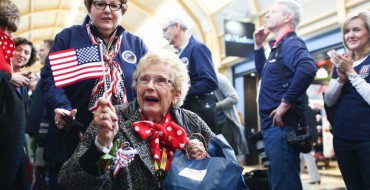 "Ford Brings 30 Original ""Rosie the Riveters"" to DC on Honor Flight"
