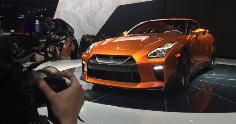 All-New Nissan GT-R Takes The New York Stage
