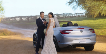 "2016 Cascada Convertible Gets the ""That's Not a Buick!"" Treatment in Wedding Commercial"