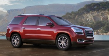 GMC Will Still Offer First-Generation Acadia for 2017 Model Year
