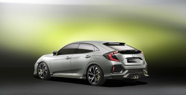 2016 Honda Civic Hatchback Prototype Coming to New York Auto Show