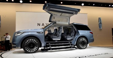 Polarizing Lincoln Navigator Concept Appearing at LA Auto Show