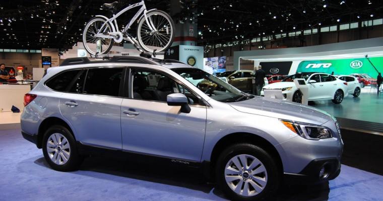 Subaru Outback Leads Subaru to Record June Sales