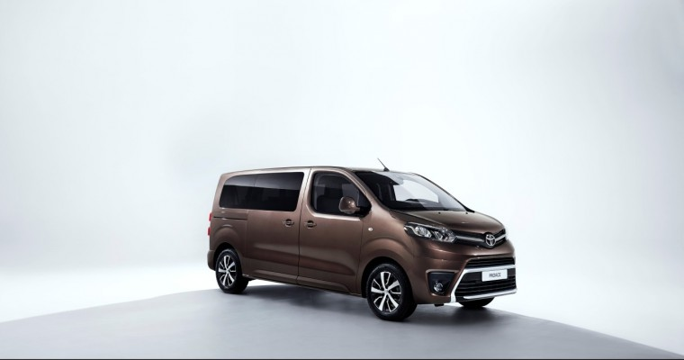 [PHOTOS] New Toyota Proace Verso Debuts at Geneva Motor Show