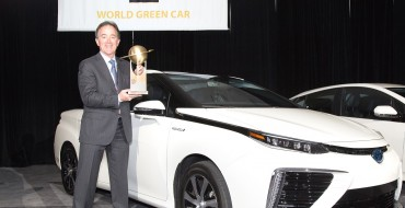 Hydrogen-Powered Toyota Mirai Claims 2016 World Green Title