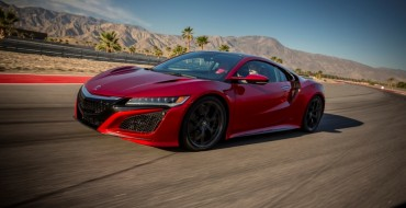 """Green Car Journal"" Names 2017 Acura NSX its Luxury Green Car of the Year"