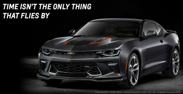 2017 Chevy Camaro 50th Anniversary Edition Celebrates Golden Anniversary with Orange and Black