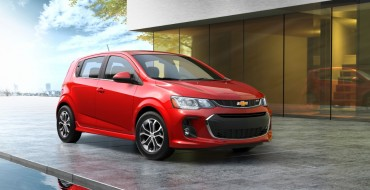 2017 Chevy Sonic Revealed Ahead of New York Auto Show [PHOTOS]