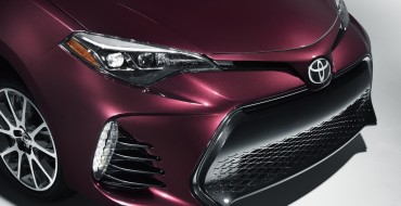 Special Edition Toyota Corolla Marks Car's 50th Anniversary