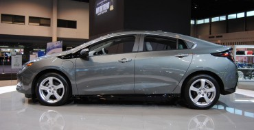 Chevy Volt Earns Top Marks From IIHS, Is Crowned Top Safety Pick+