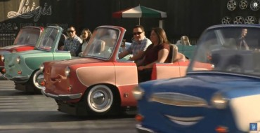 Take a Spin on Disney California's New 'Cars' Ride: Luigi's Rollickin' Roadsters