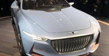 [PHOTOS] Genesis Hybrid Sedan Concept Struts Its Stuff in New York, Sets Sights on BMW