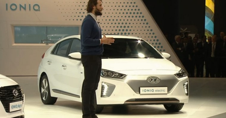 Groundbreaking Hyundai IONIQ Makes Public Debut at Geneva Motor Show