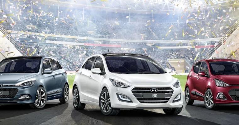 Soccer Fans Rejoice Over Special Edition GO! Hyundai Models