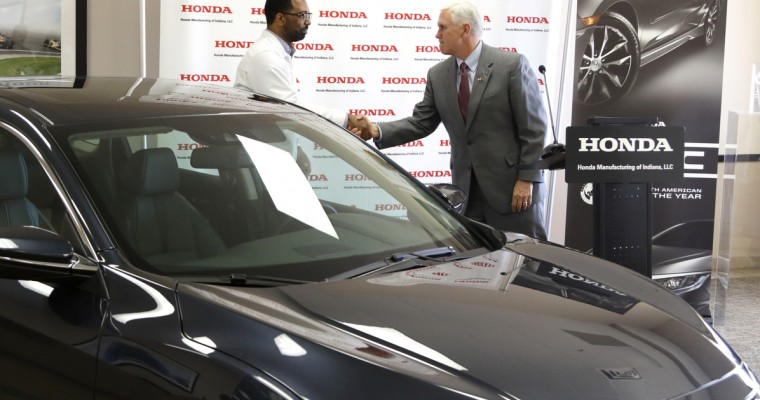 Honda Adding 100 New Jobs and $52 Million to Indiana Plant