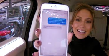 Jennifer Lopez Takes a Ride with Carpool Karaoke