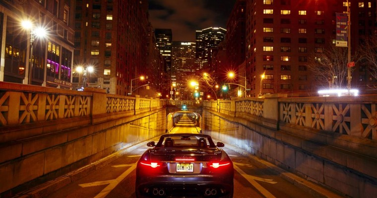 Jaguar Lets New F-Type SVR Loose in NYC