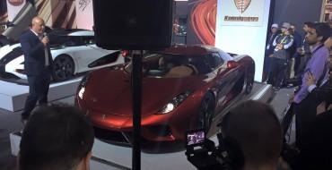 Koenigsegg Debuts Regera in North America at NYIAS