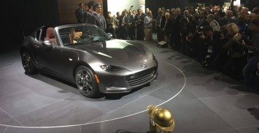 [PHOTOS] Mazda Shows Off MX-5 RF, World Car of the Year Awards at New York