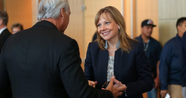 Donald Trump Nearly Got the Chance to Call Mary Barra Ugly
