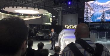 North American Debut of Maserati Levante at New York Auto Show