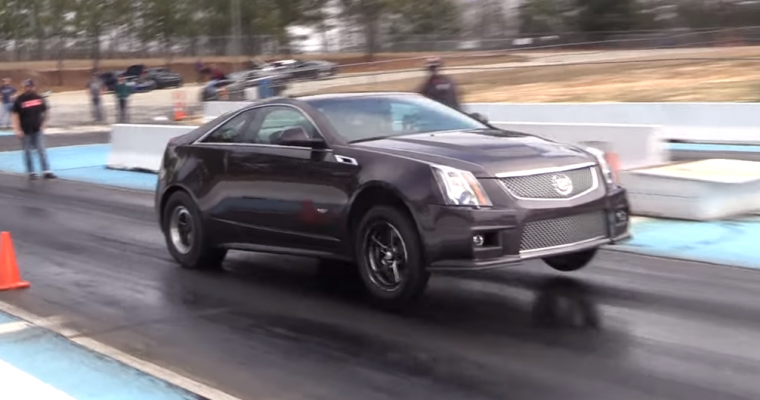 [VIDEO] Modified Cadillac CTS-V Coupe Completes 9-Second Quarter Mile