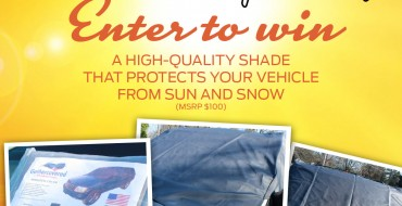 Enter Our Giveaway: All-Season Windshield Cover to Repel Sun & Snow