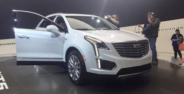 [PHOTOS] Cadillac Brings XT5 Crossover to New York Auto Show