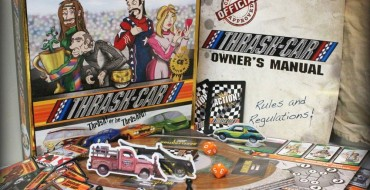 'Thrash-Car' Board Game Review: A Riotous, Reckless Racing Game
