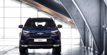 Toyota RAV4 Hybrid Sapphire Design Study on Display in Geneva