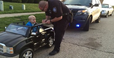 Tyke Pulled Over for Speeding in Ohio