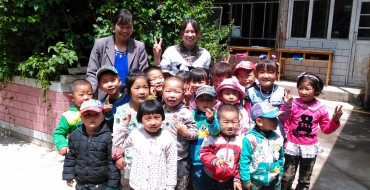 GM China Sponsoring CDRF Village Kindergarten Project