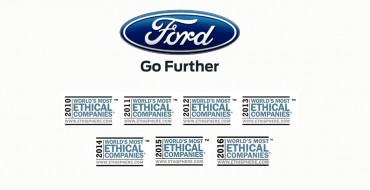 Ford Makes Ethisphere Institute's World's Most Ethical Companies List for Seventh Year