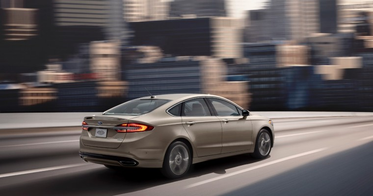 2017 Ford Fusion Will Be Available with Stop-and-Go Technology