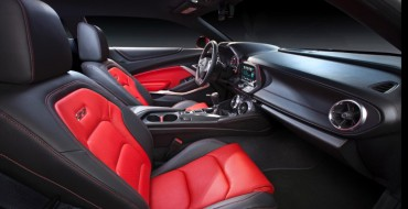 2016 Camaro SS Honored as One of Wards 10 Best Interiors