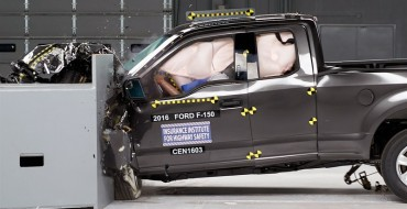 2016 Ford F-150 Only Large Pickup to Earn IIHS TOP SAFETY PICK