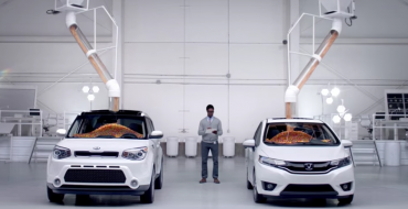 Kia Uses Jellybeans to Show Soul Is Roomier Than Honda Fit