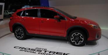 "2016 Subaru Crosstrek ""Pure Red"" Special Edition Priced at $25,595"