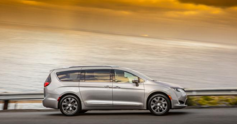 2017 Chrysler Pacifica Named Overall Best Family Car at 2016 Family Car Challenge