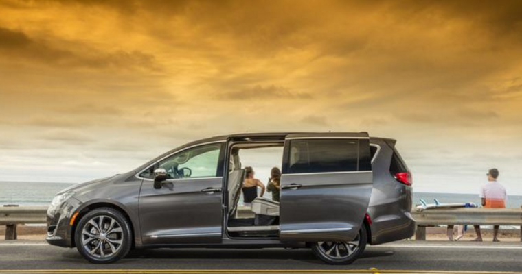 2017 Chrysler Pacifica Minivan Earns Family Car of Texas Title
