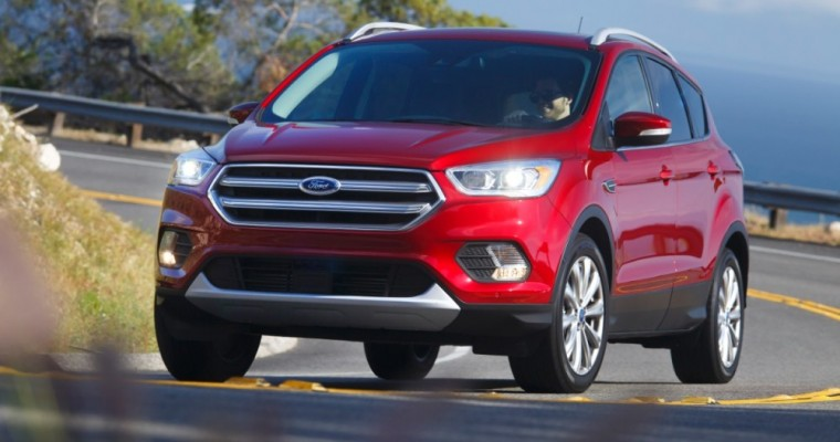 Ford Escape Sees Best March Sales in Canada, SUV Sales Up 19%