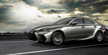2017 Lexus IS Takes a Bow In China