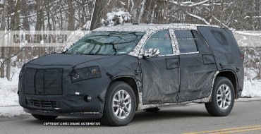 A Preview of the 2018 Chevy Traverse, Spotted Under Heavy Camouflage
