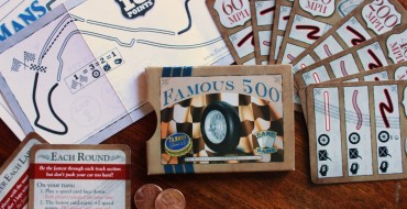 """Famous 500 Card Game Review: """"The World's Smallest Car Racing Game"""""""